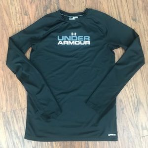 Youth Boys UA fitted long sleeve shirt